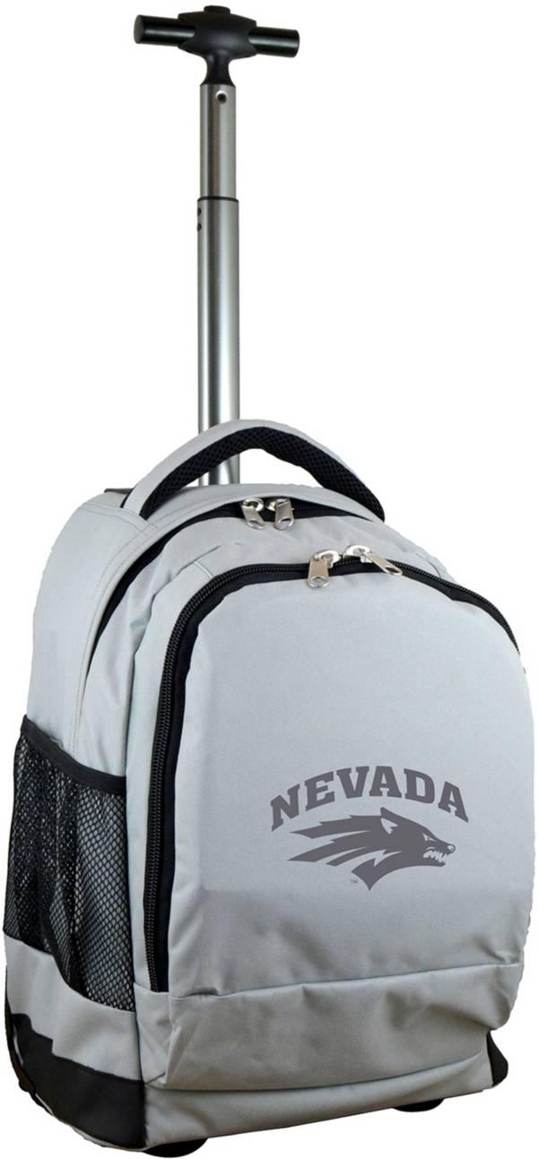 Mojo Nevada Wolf Pack Wheeled Premium Grey Backpack product image