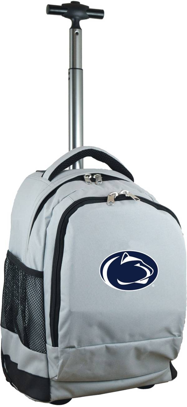 Mojo Penn State Nittany Lions Wheeled Premium Grey Backpack product image