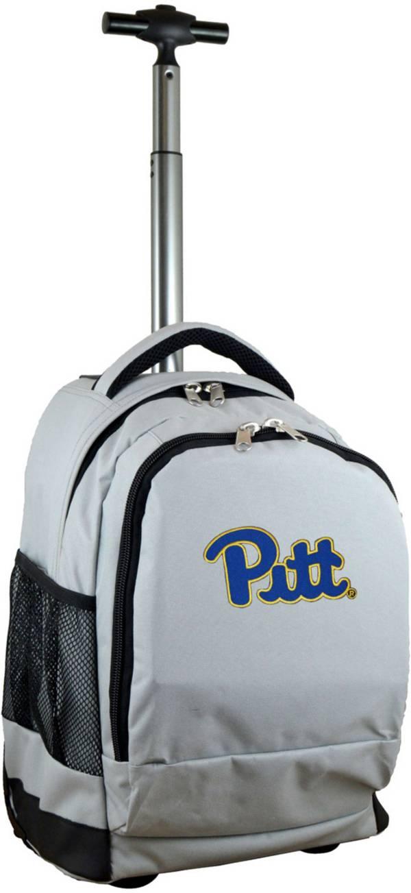 Mojo Pitt Panthers Wheeled Premium Grey Backpack product image