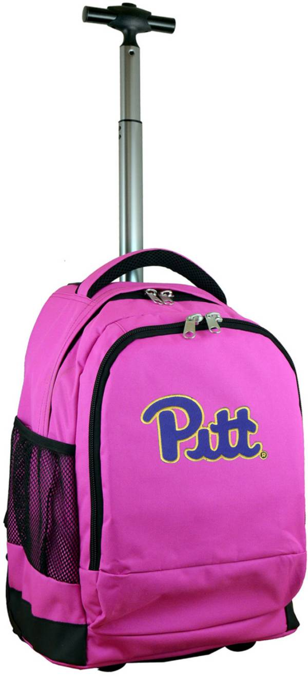 Mojo Pitt Panthers Wheeled Premium Pink Backpack product image