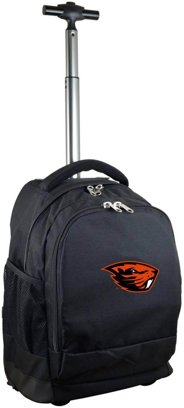 Mojo Oregon State Beavers Wheeled Premium Black Backpack product image
