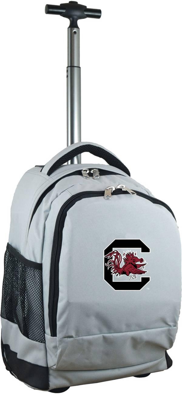 Mojo South Carolina Gamecocks Wheeled Premium Grey Backpack product image