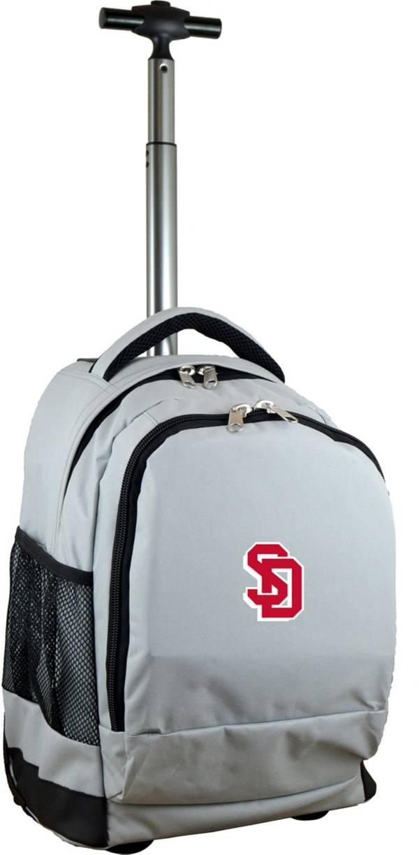 Mojo South Dakota Coyotes Wheeled Premium Grey Backpack product image