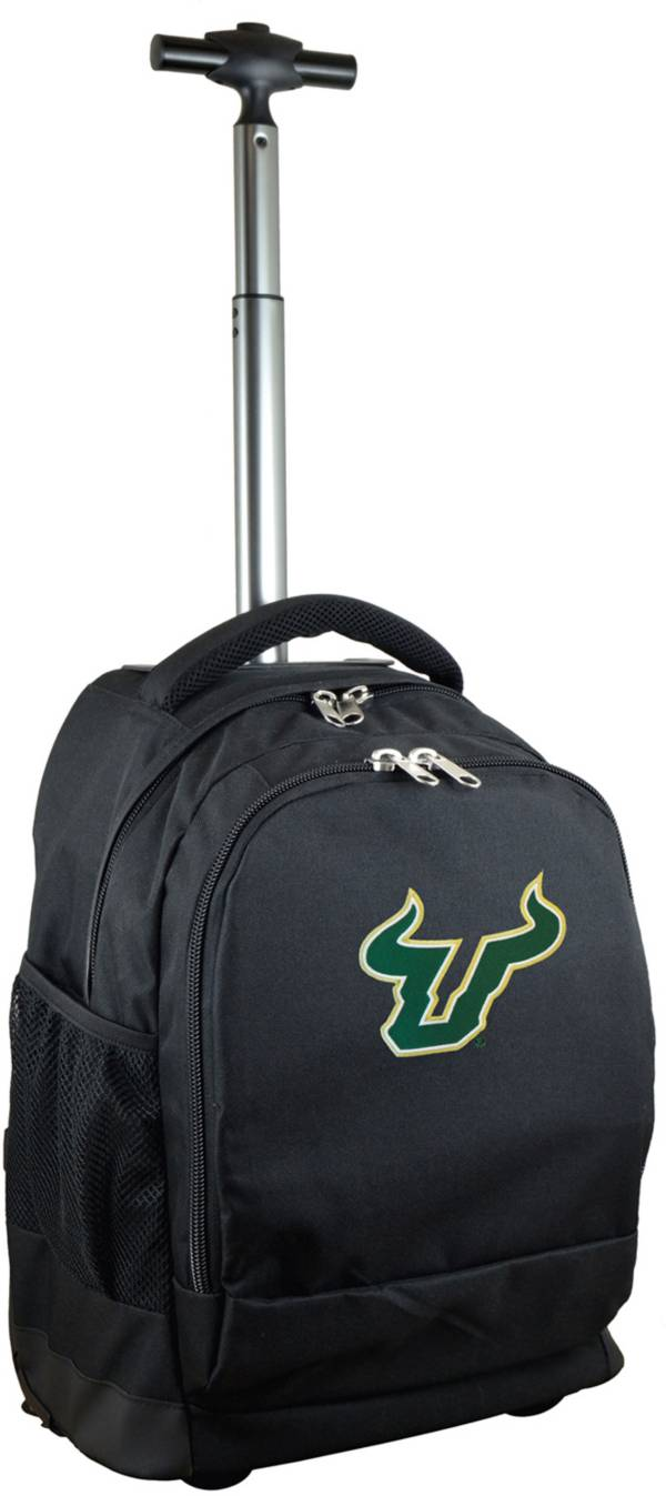 Mojo South Florida Bulls Wheeled Premium Black Backpack product image