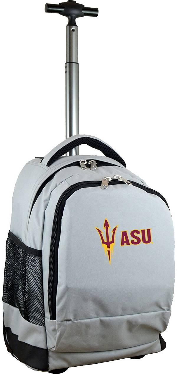 Mojo Arizona State Sun Devils Wheeled Premium Grey Backpack product image