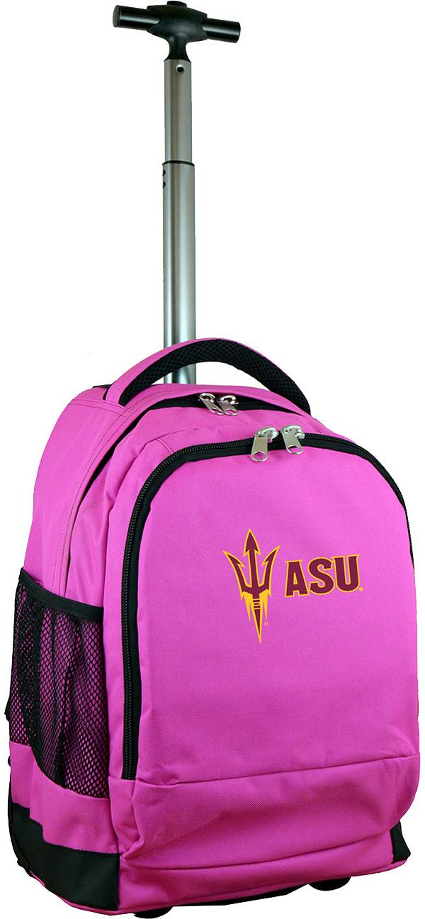 Mojo Arizona State Sun Devils Wheeled Premium Pink Backpack product image