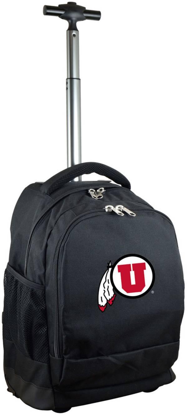 Mojo Utah Utes Wheeled Premium Black Backpack product image