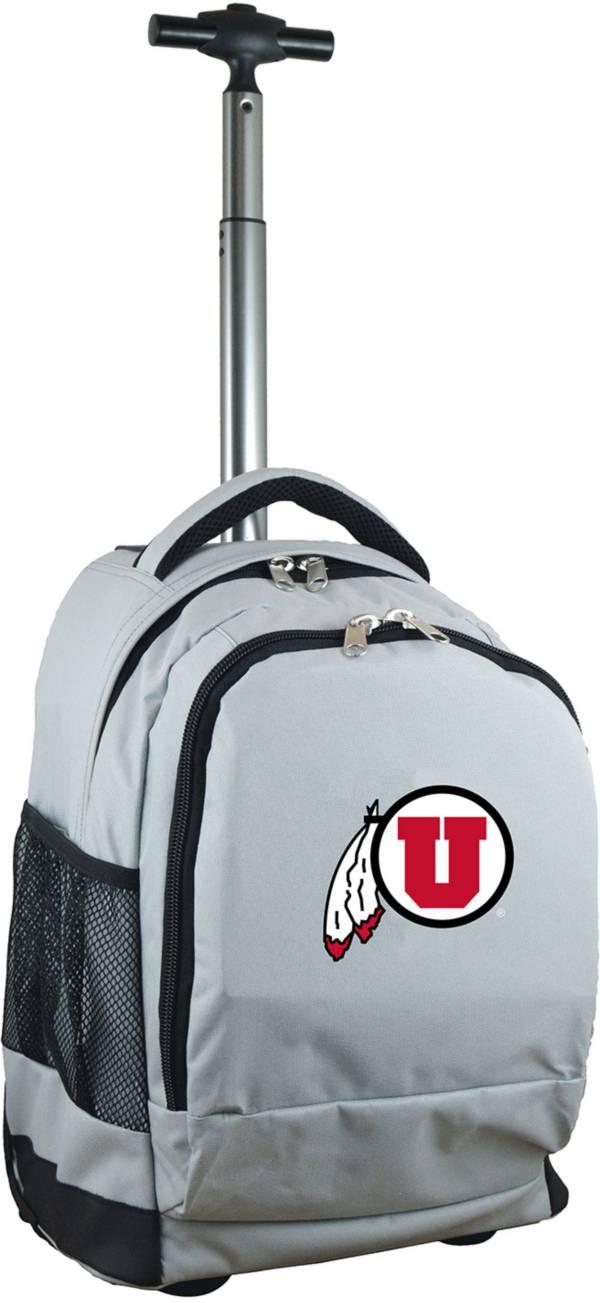 Mojo Utah Utes Wheeled Premium Grey Backpack product image