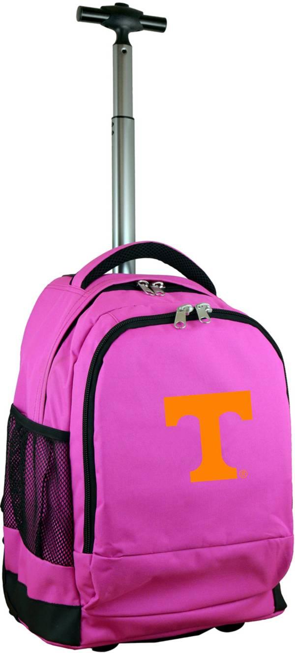 Mojo Tennessee Volunteers Wheeled Premium Pink Backpack product image