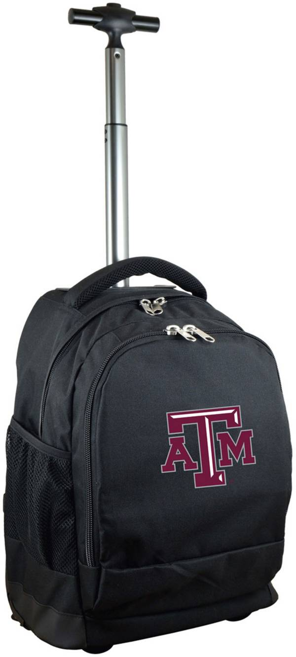Mojo Texas A&M Aggies Wheeled Premium Black Backpack product image