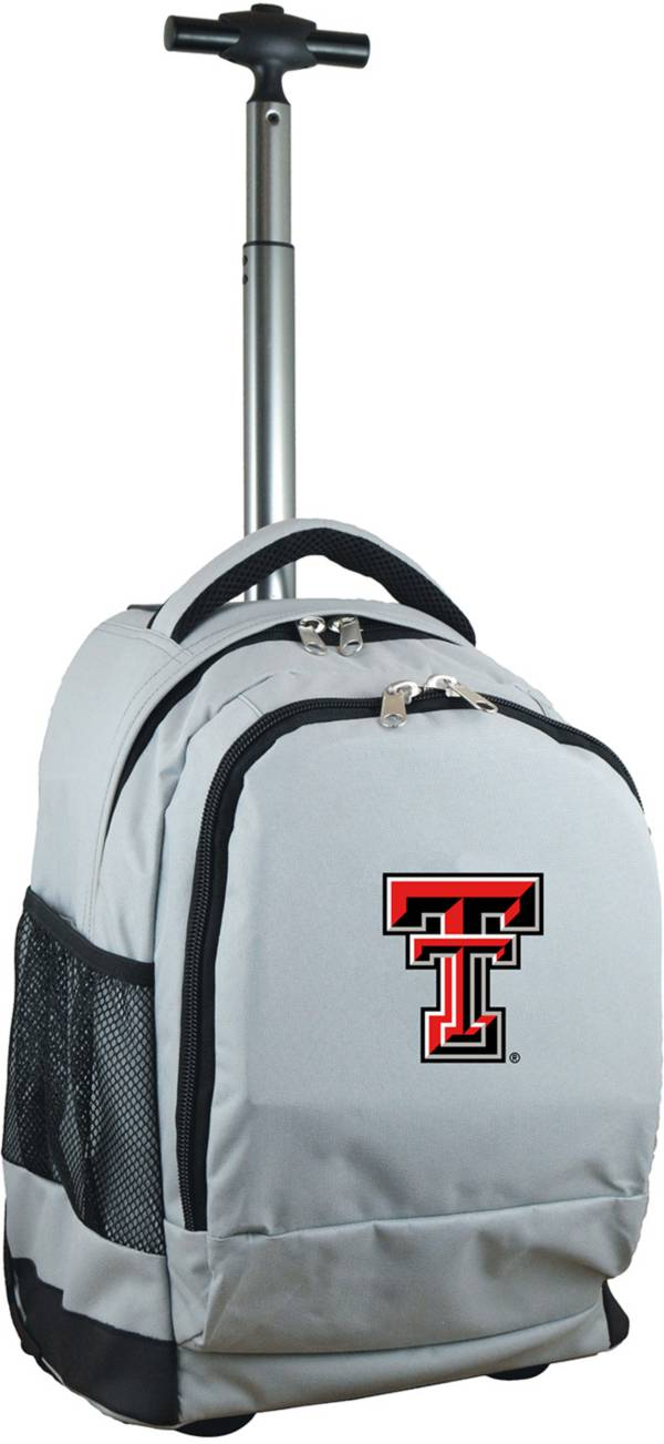 Mojo Texas Tech Red Raiders Wheeled Premium Grey Backpack product image