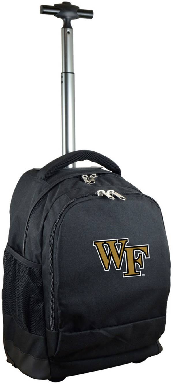 Mojo Wake Forest Demon Deacons Wheeled Premium Black Backpack product image