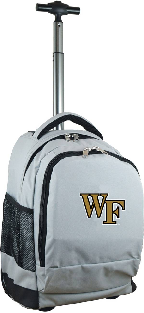 Mojo Wake Forest Demon Deacons Wheeled Premium Grey Backpack product image