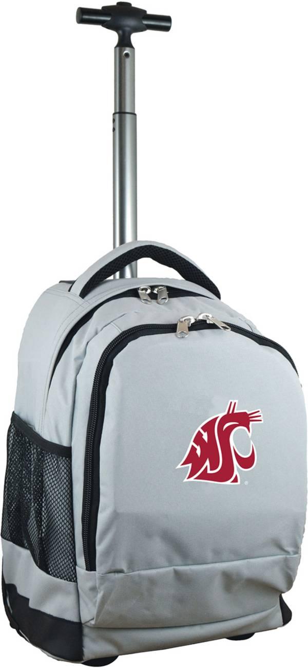 Mojo Washington State Cougars Wheeled Premium Grey Backpack product image