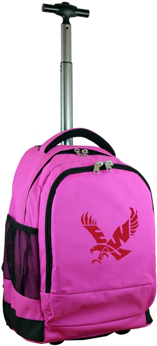 Mojo Eastern Washington Eagles Wheeled Premium Pink Backpack product image