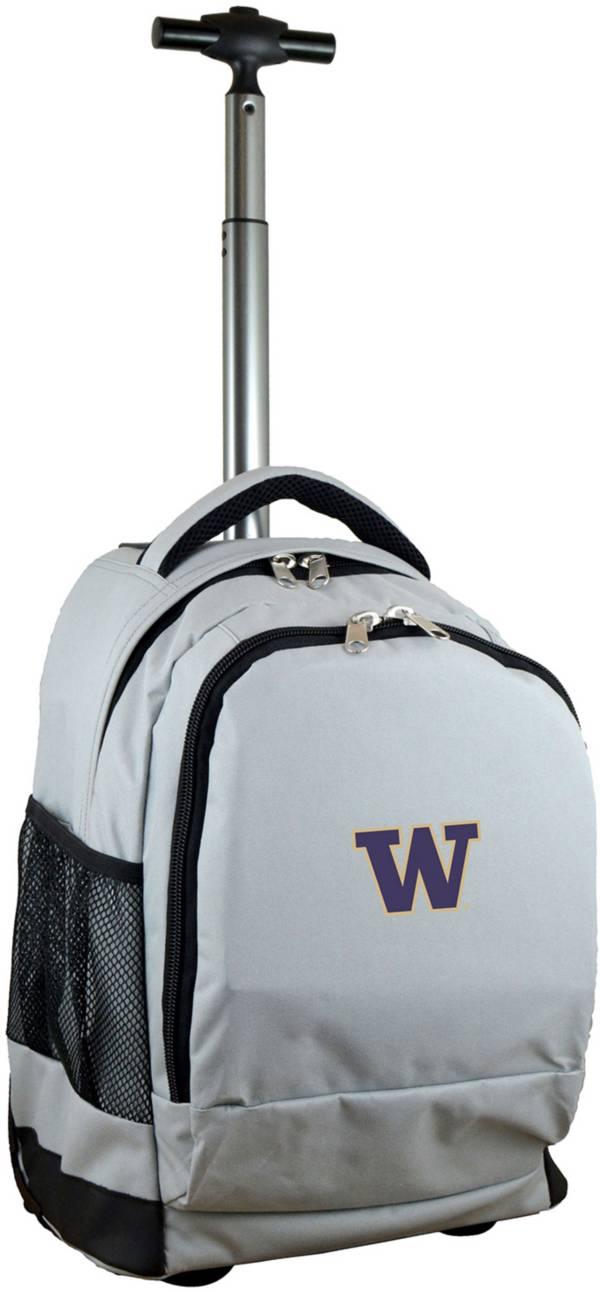 Mojo Washington Huskies Wheeled Premium Grey Backpack product image