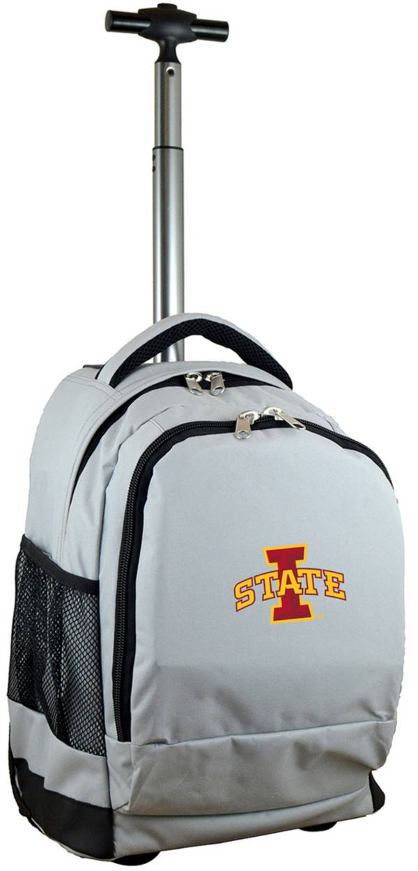 Mojo Iowa State Cyclones Wheeled Premium Grey Backpack product image