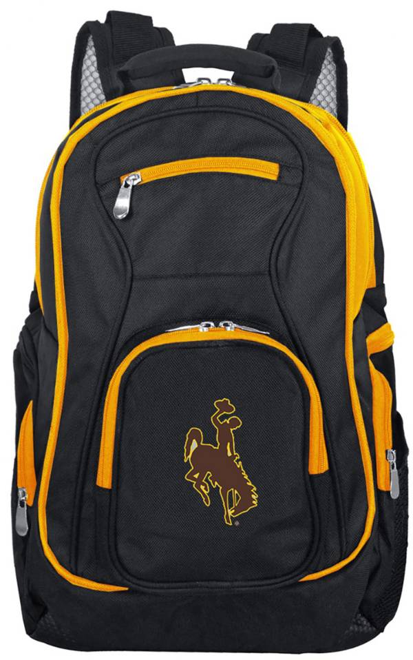 Mojo Wyoming Cowboys Colored Trim Laptop Backpack product image