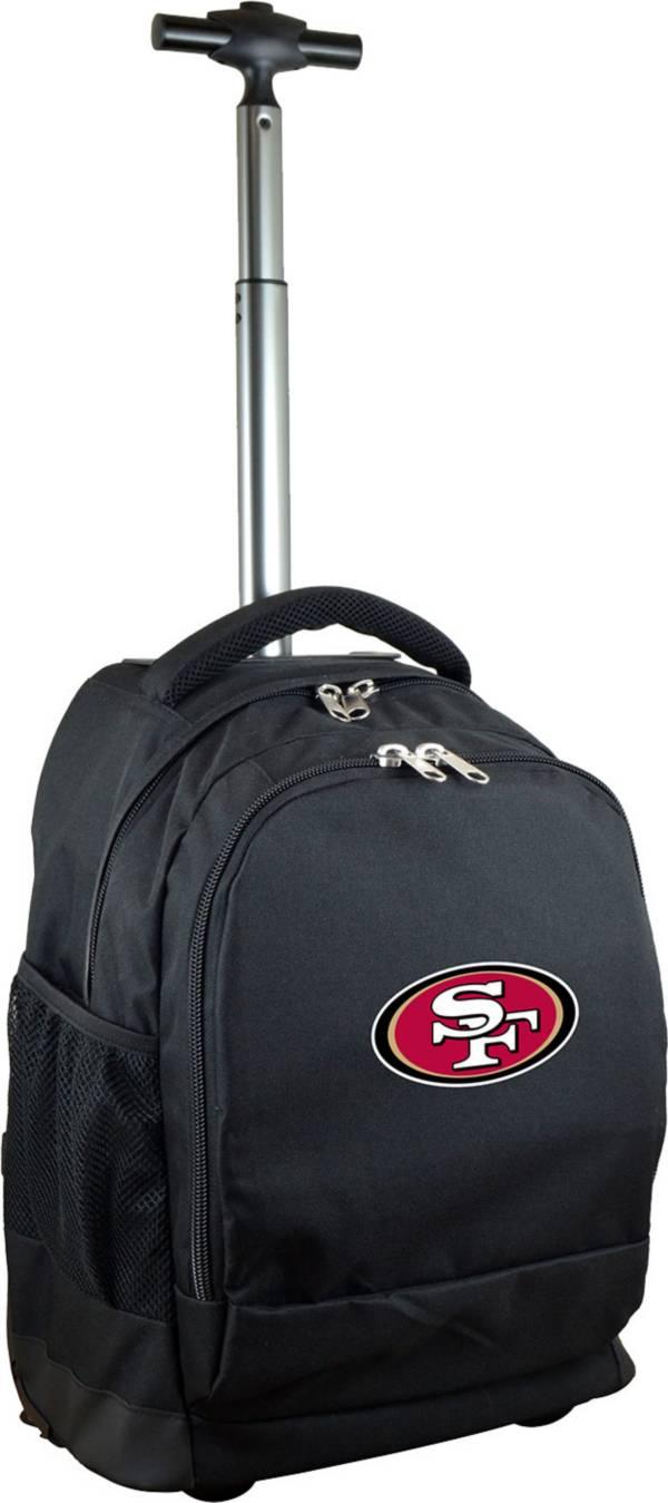 Mojo San Francisco 49ers Wheeled Premium Black Backpack product image