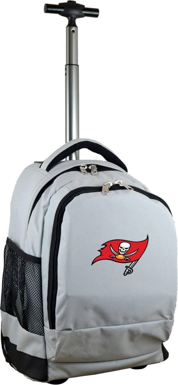 Mojo Tampa Bay Buccaneers Wheeled Premium Grey Backpack product image