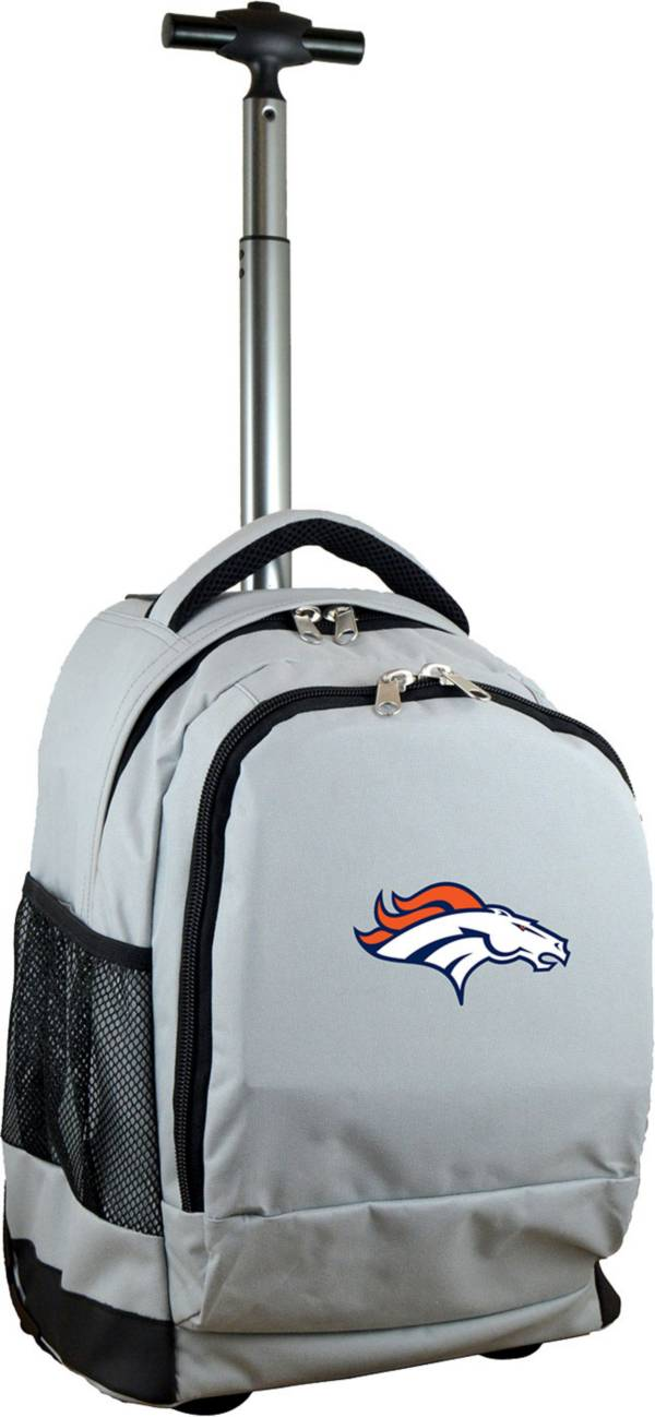 Mojo Denver Broncos Wheeled Premium Grey Backpack product image