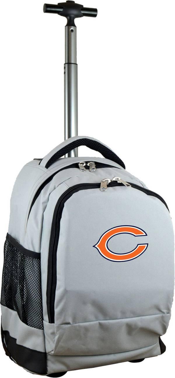 Mojo Chicago Bears Wheeled Premium Grey Backpack product image