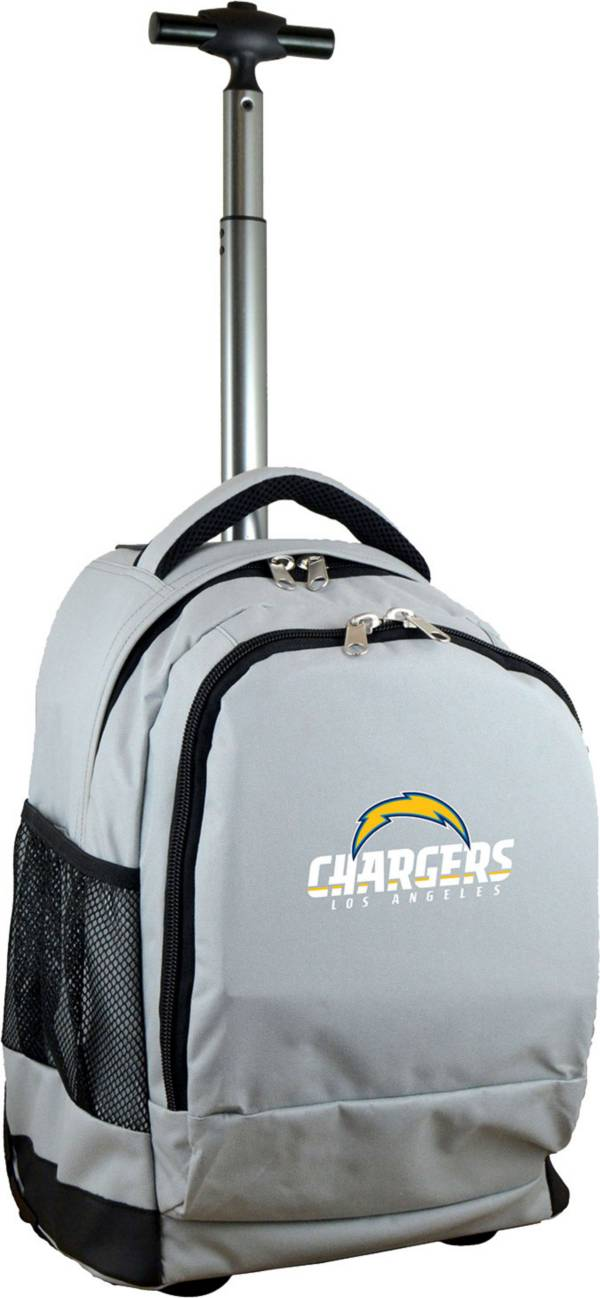 Mojo Los Angeles Chargers Wheeled Premium Grey Backpack product image