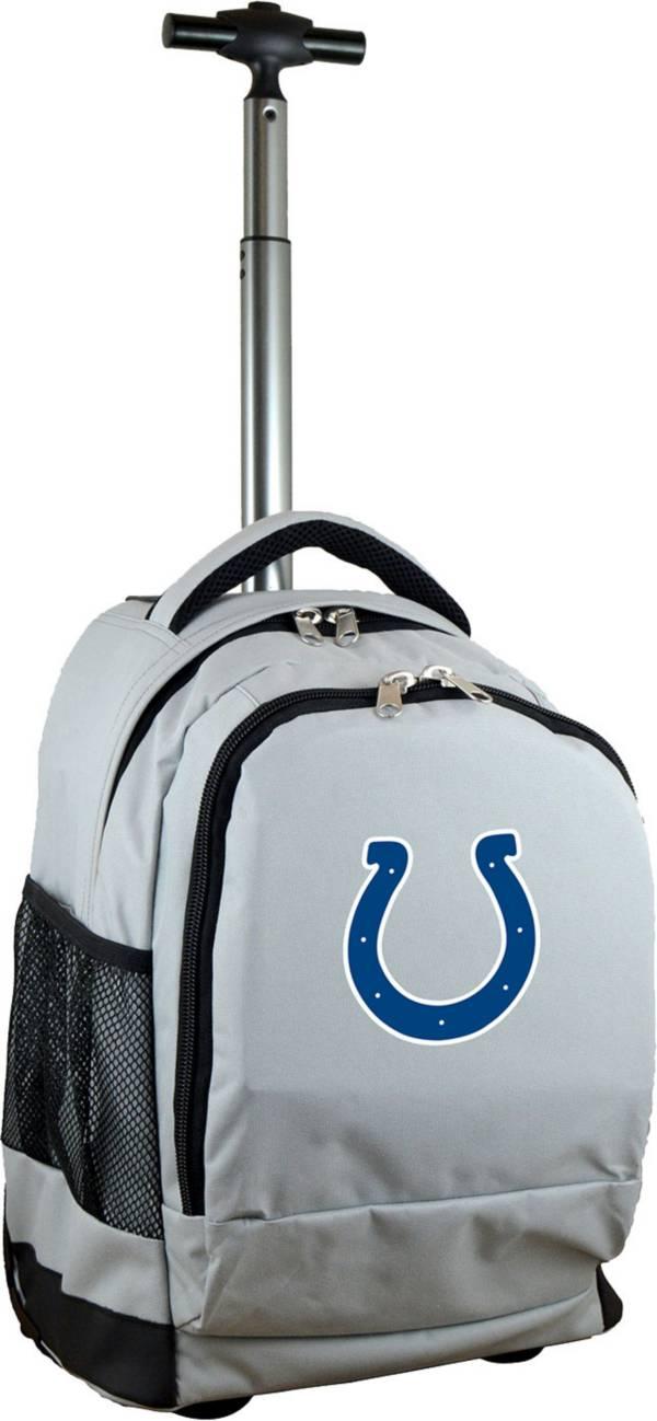 Mojo Indianapolis Colts Wheeled Premium Grey Backpack product image