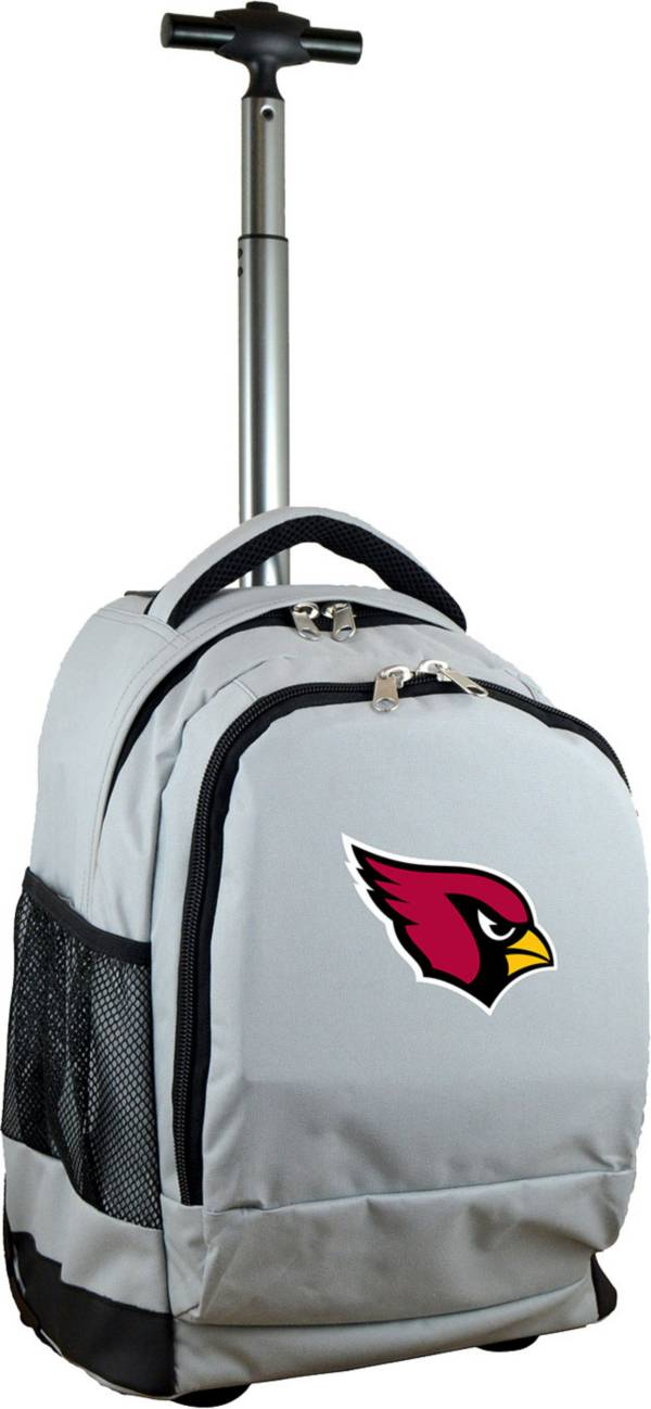 Mojo Arizona Cardinals Wheeled Premium Grey Backpack product image