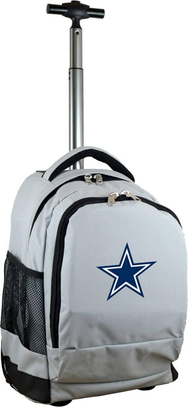 Mojo Dallas Cowboys Wheeled Premium Grey Backpack product image