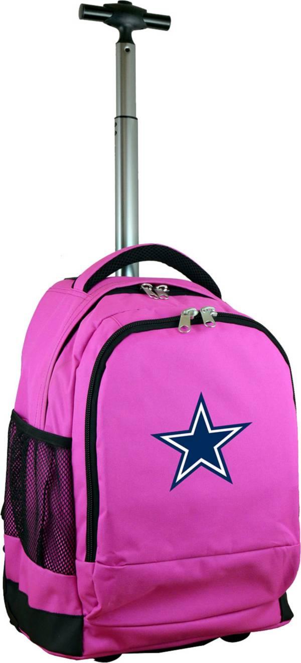 Mojo Dallas Cowboys Wheeled Premium Pink Backpack product image