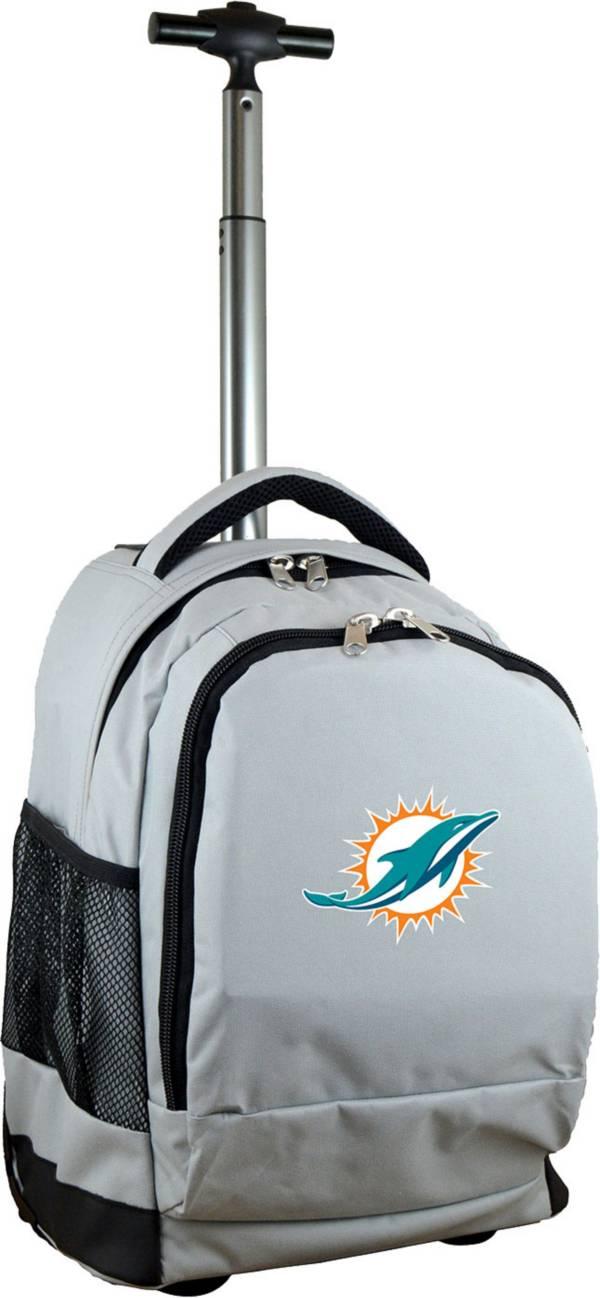 Mojo Miami Dolphins Wheeled Premium Grey Backpack product image