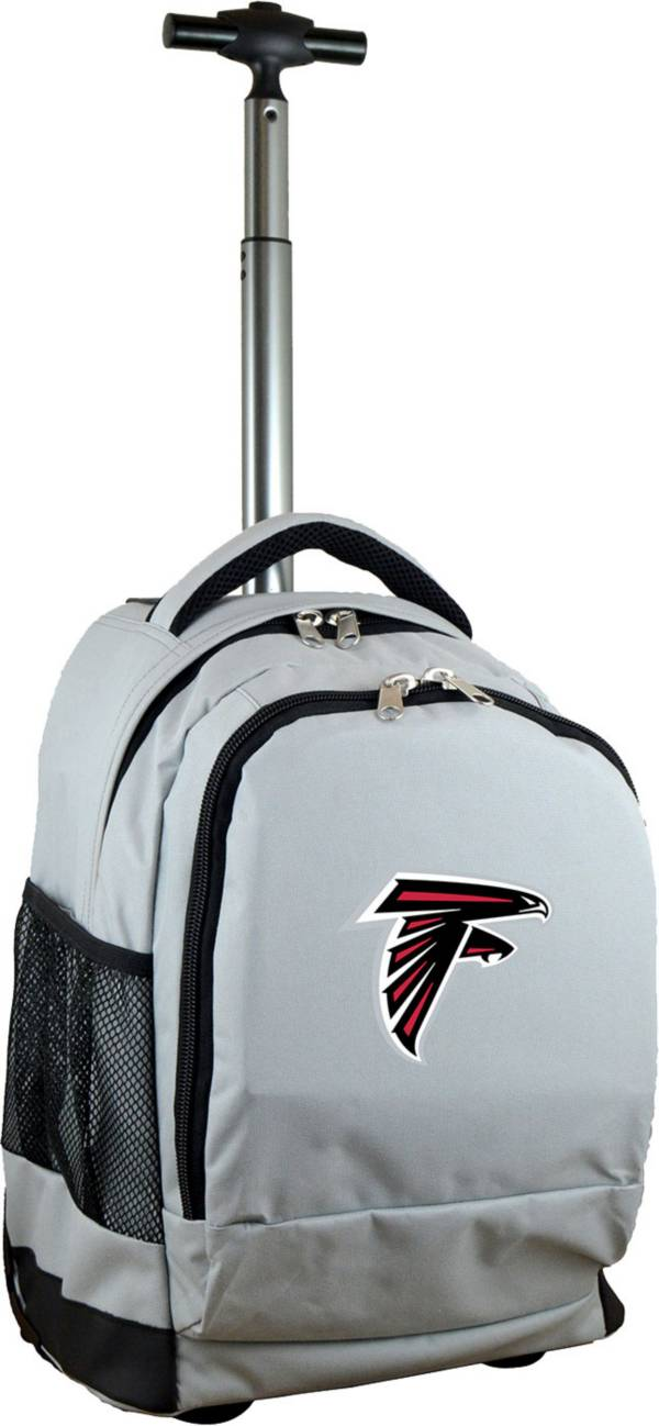 Mojo Atlanta Falcons Wheeled Premium Grey Backpack product image