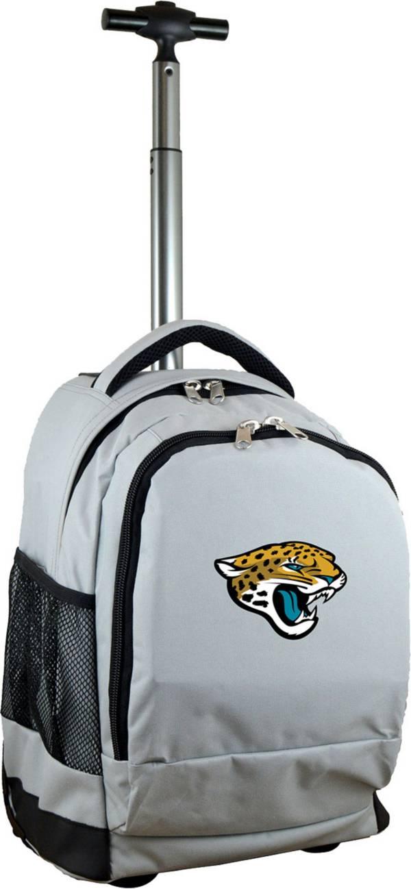Mojo Jacksonville Jaguars Wheeled Premium Grey Backpack product image