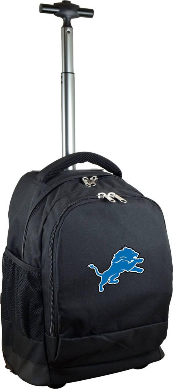 Mojo Detroit Lions Wheeled Premium Black Backpack product image