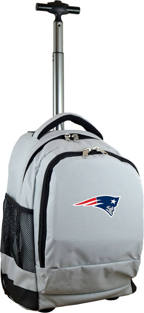 Mojo New England Patriots Wheeled Premium Grey Backpack product image
