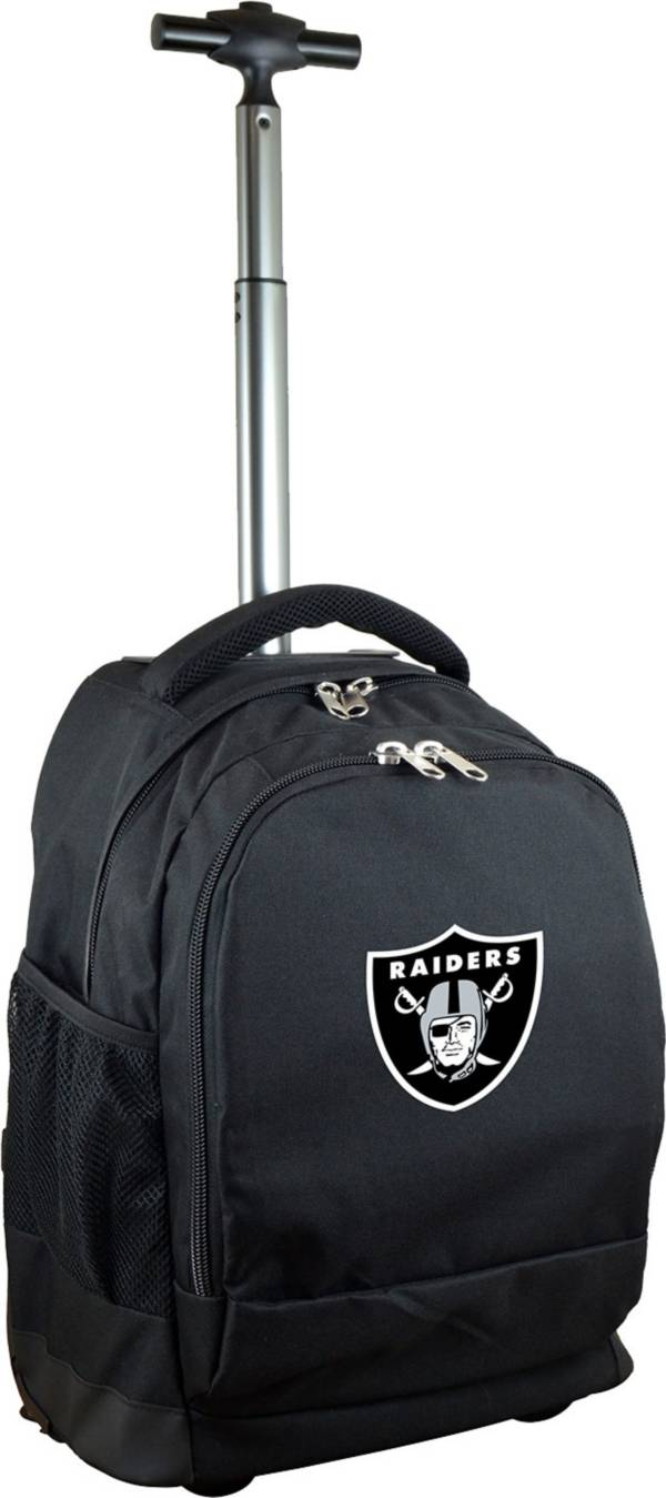 Mojo Oakland Raiders Wheeled Premium Black Backpack product image