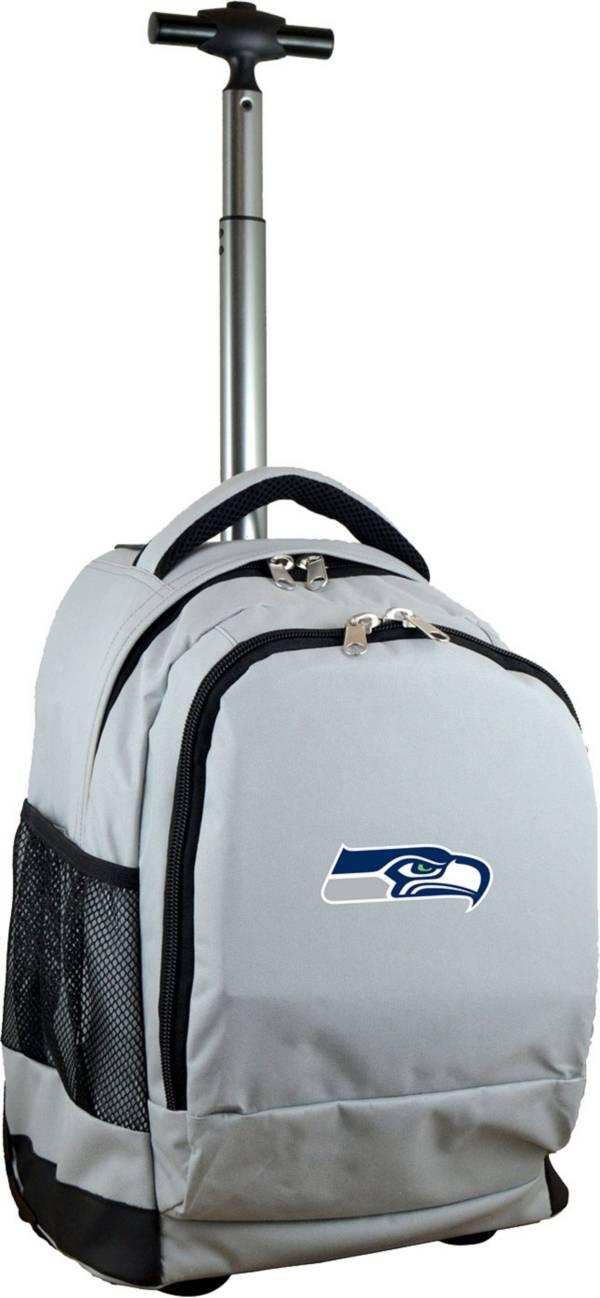 Mojo Seattle Seahawks Wheeled Premium Grey Backpack product image
