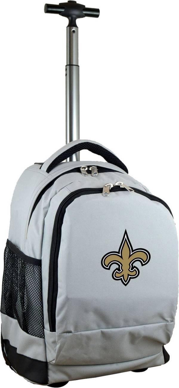 Mojo New Orleans Saints Wheeled Premium Grey Backpack product image