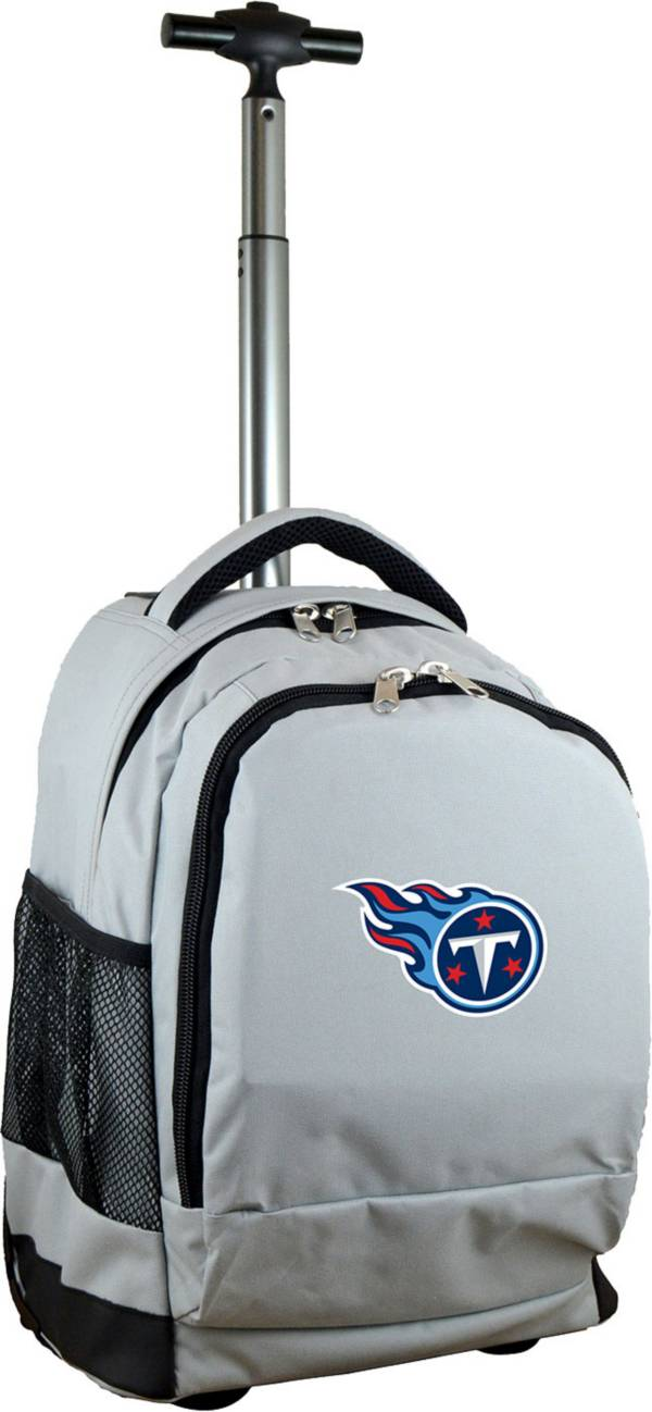 Mojo Tennessee Titans Wheeled Premium Grey Backpack product image