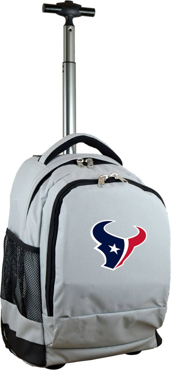 Mojo Houston Texans Wheeled Premium Grey Backpack product image