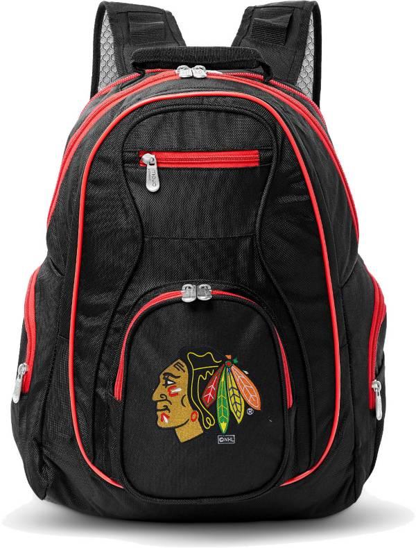 Mojo Chicago Blackhawks Colored Trim Laptop Backpack product image