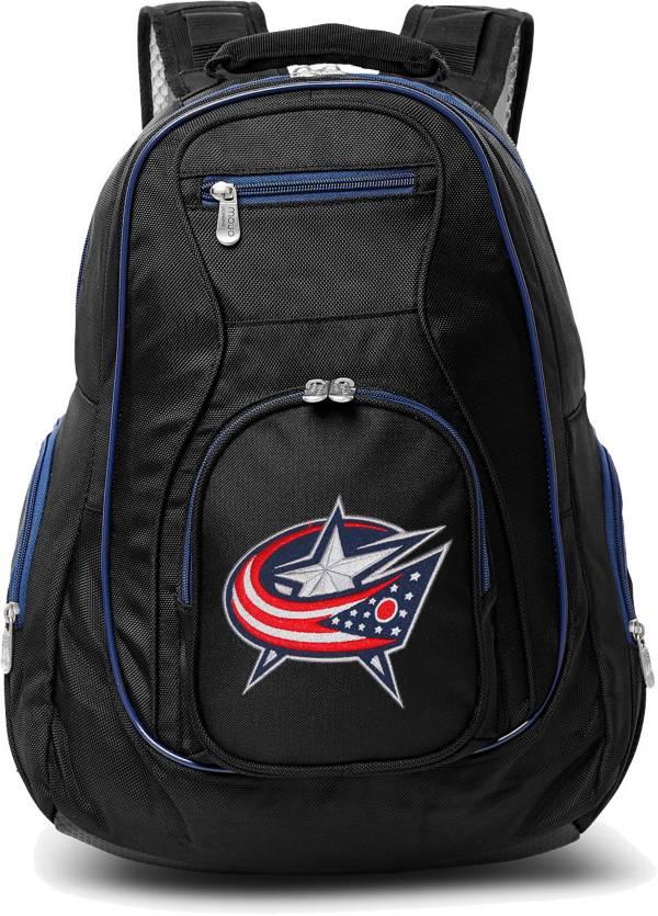 Mojo Columbus Blue Jackets Colored Trim Laptop Backpack product image