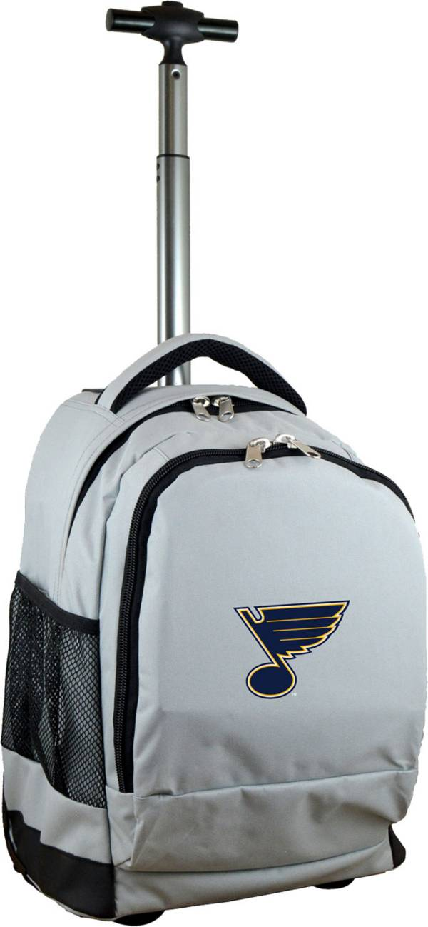 Mojo St. Louis Blues Wheeled Premium Grey Backpack product image