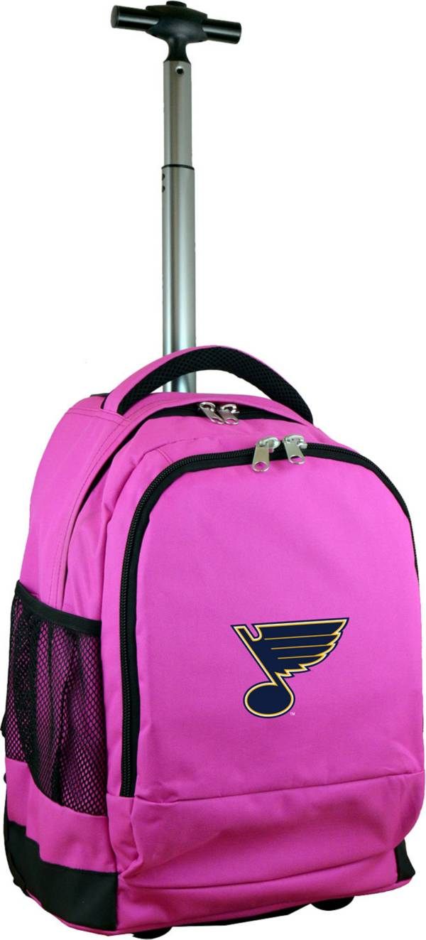 Mojo St. Louis Blues Wheeled Premium Pink Backpack product image