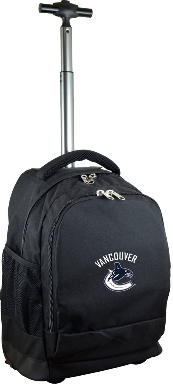 Mojo Vancouver Canucks Wheeled Premium Black Backpack product image