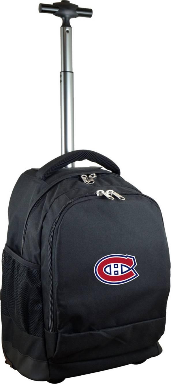 Mojo Montreal Canadiens Wheeled Premium Black Backpack product image