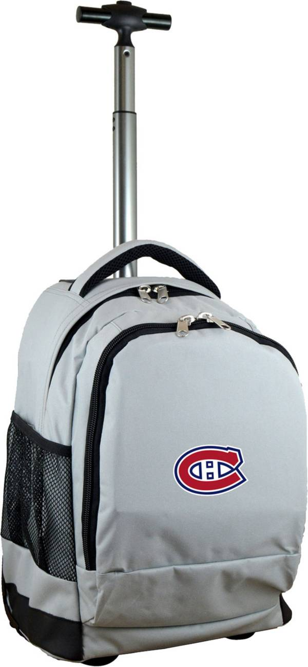Mojo Montreal Canadiens Wheeled Premium Grey Backpack product image