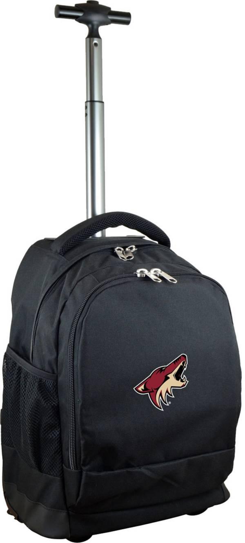 Mojo Arizona Coyotes Wheeled Premium Black Backpack product image