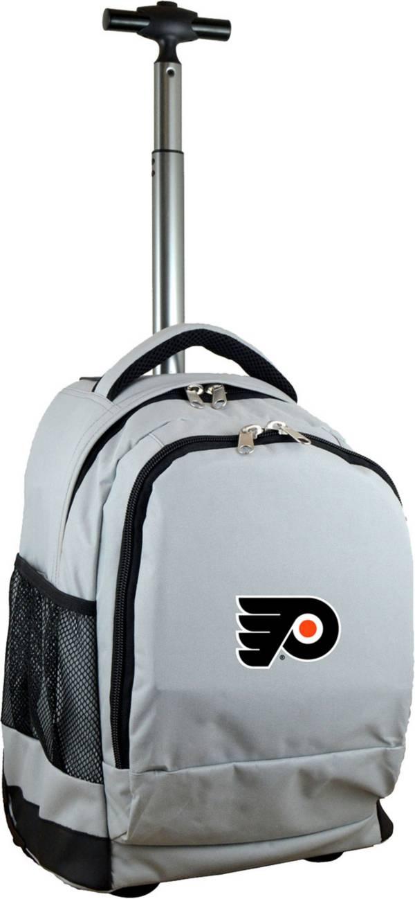 Mojo Philadelphia Flyers Wheeled Premium Grey Backpack product image